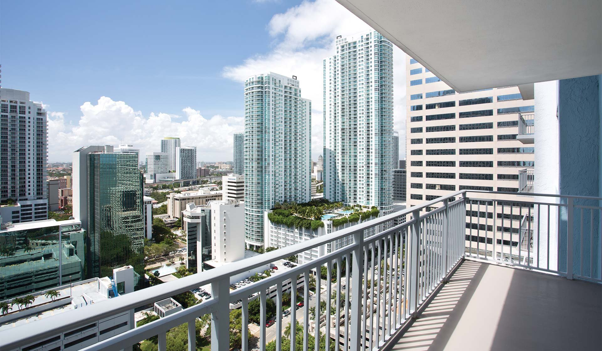 Yacht Club at Brickell - Balcony View - Miami, FL