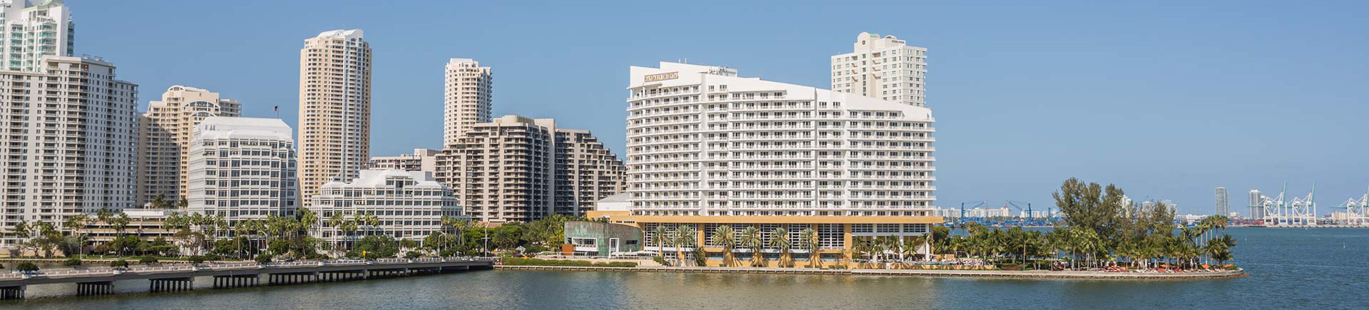 Yacht Club at Brickell Apartments in Miami, FL - Panoramic Views of the Bay